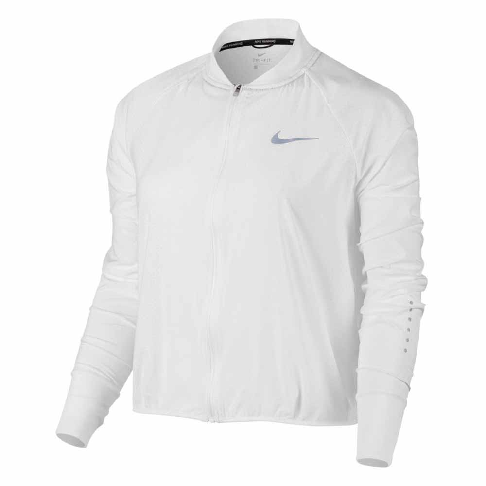 c1c3464460bd Nike Jacket City Bomber White buy and offers on Runnerinn