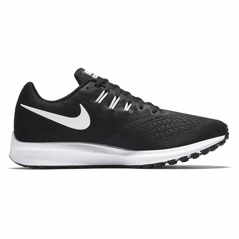 online store 5420b 48d8d Nike Zoom Winflo 4 Black buy and offers on Runnerinn