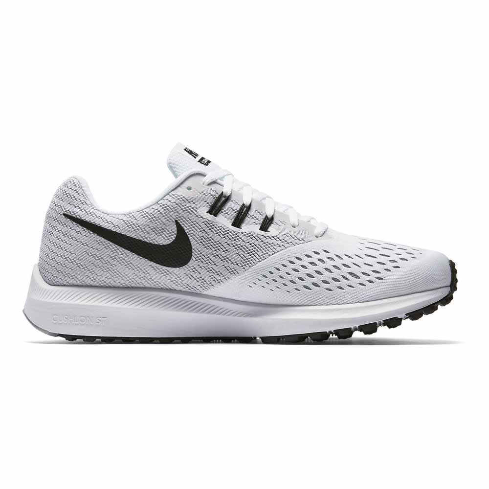 cb3948ee24bb Nike Zoom Winflo 4 White buy and offers on Runnerinn