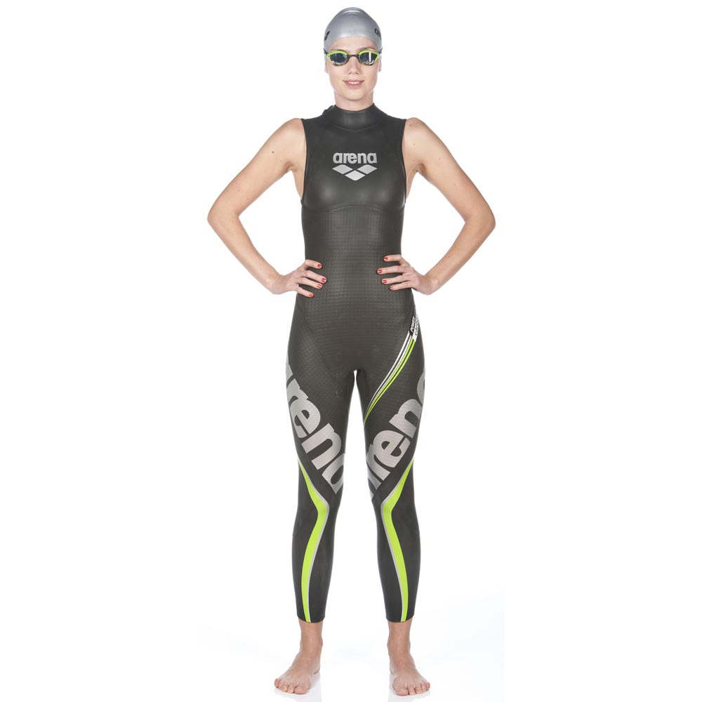 Arena Triwetsuit Carbon Sleeveless