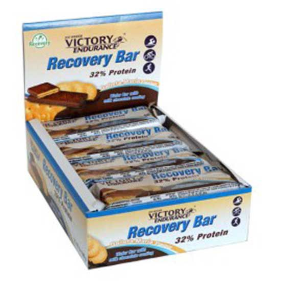 Weider Victory Endurance Recovery Bar Plátano 35gr X 12 Unidades