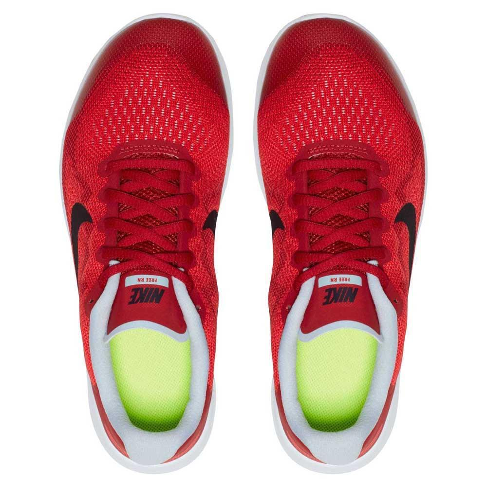 7b235d54be62b Nike Free RN 2017 Grade School Red buy and offers on Runnerinn