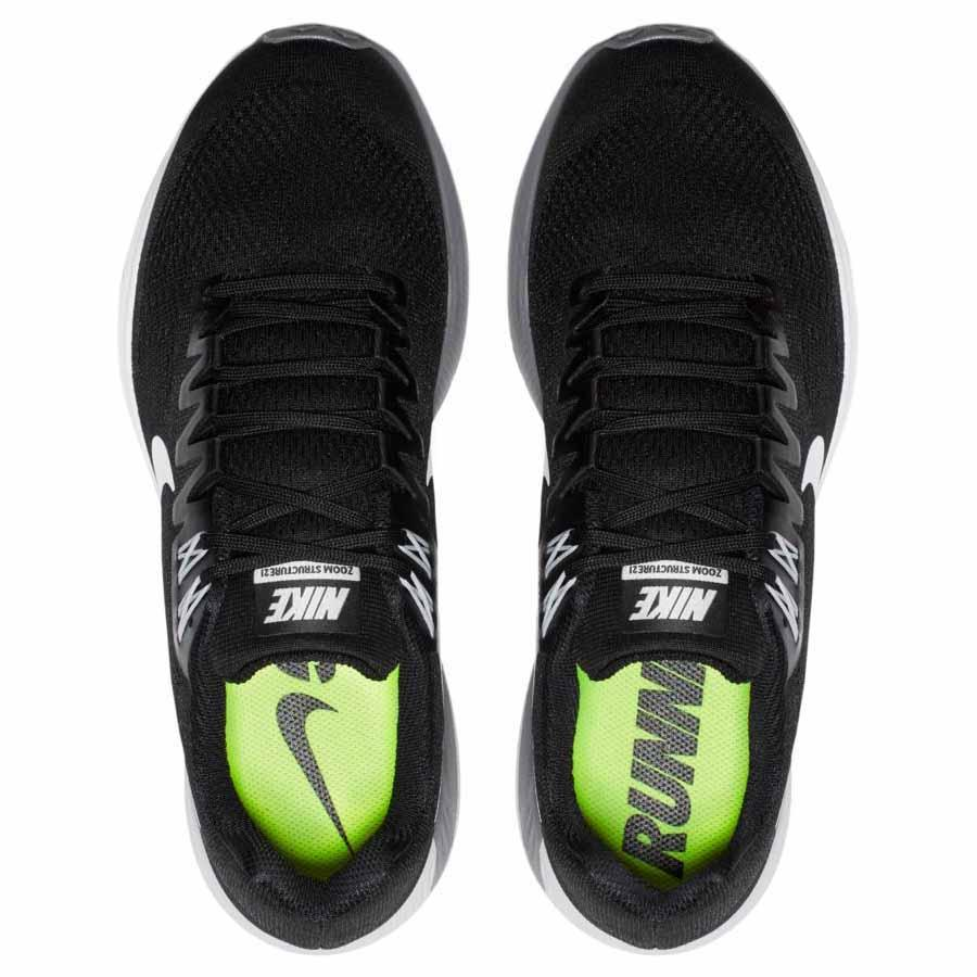 f42afa27102d51 Nike Air Zoom Structure 21 Black buy and offers on Runnerinn