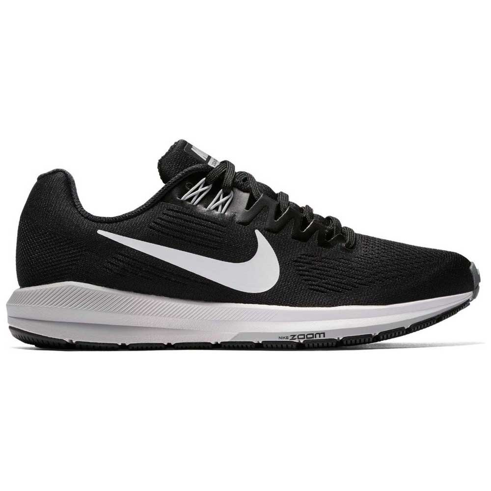 ee42720bf318 Nike Air Zoom Structure 21 Black buy and offers on Runnerinn