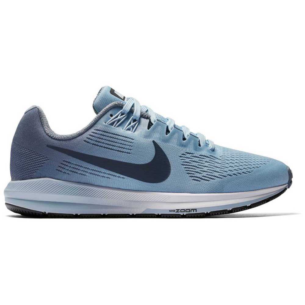 3727a4be32f Nike Air Zoom Structure 21 Wide Blue buy and offers on Runnerinn