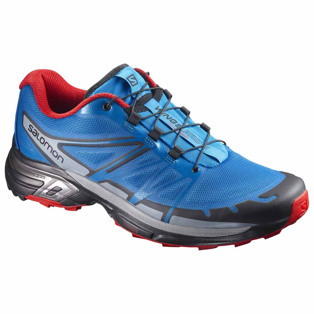competitive price 29f52 bfdd2 Salomon Wings Pro 2 Blue buy and offers on Runnerinn