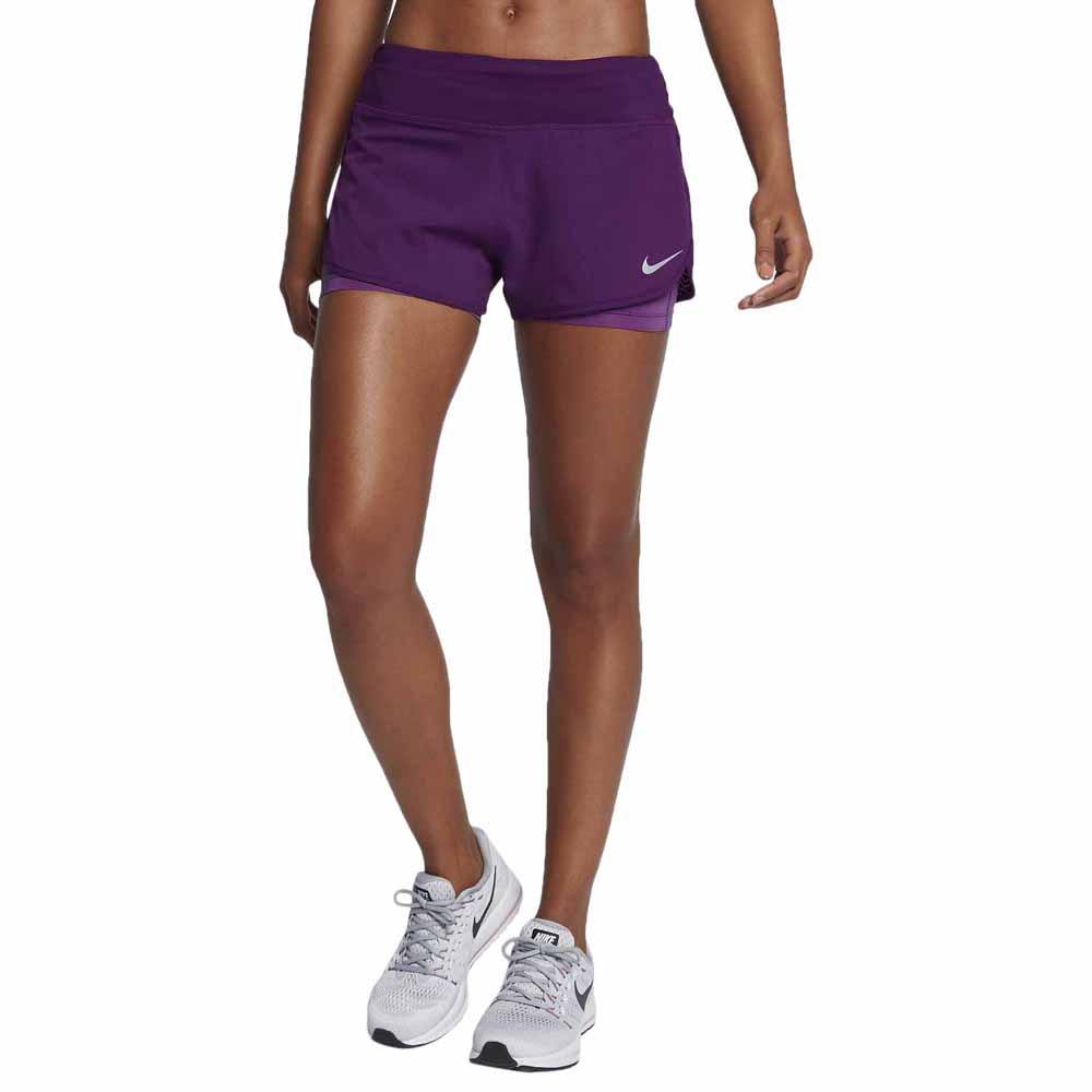 Zumbido Vatio interior  Nike Flex 2 In 1 Short Rival Purple buy and offers on Runnerinn
