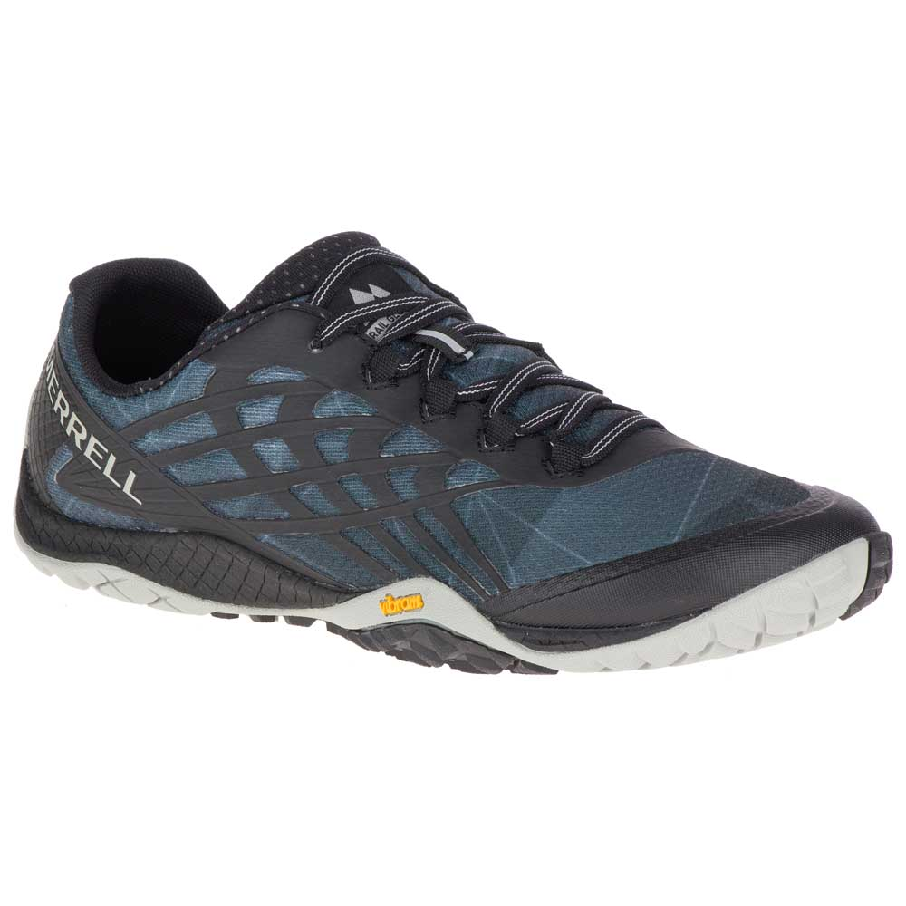 3b6d7aeca7e Merrell Trail Glove 4 Black buy and offers on Runnerinn