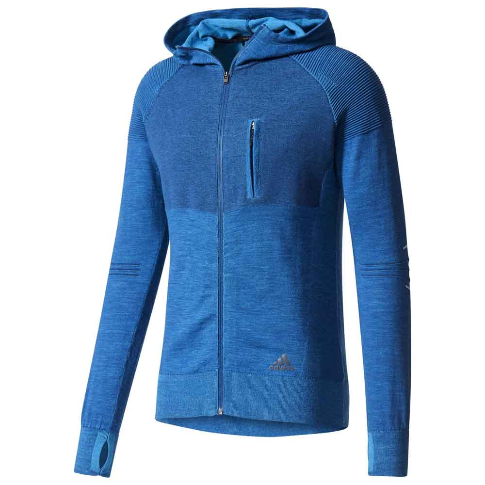 adidas City Run Primeknit Blue buy and offers on Runnerinn