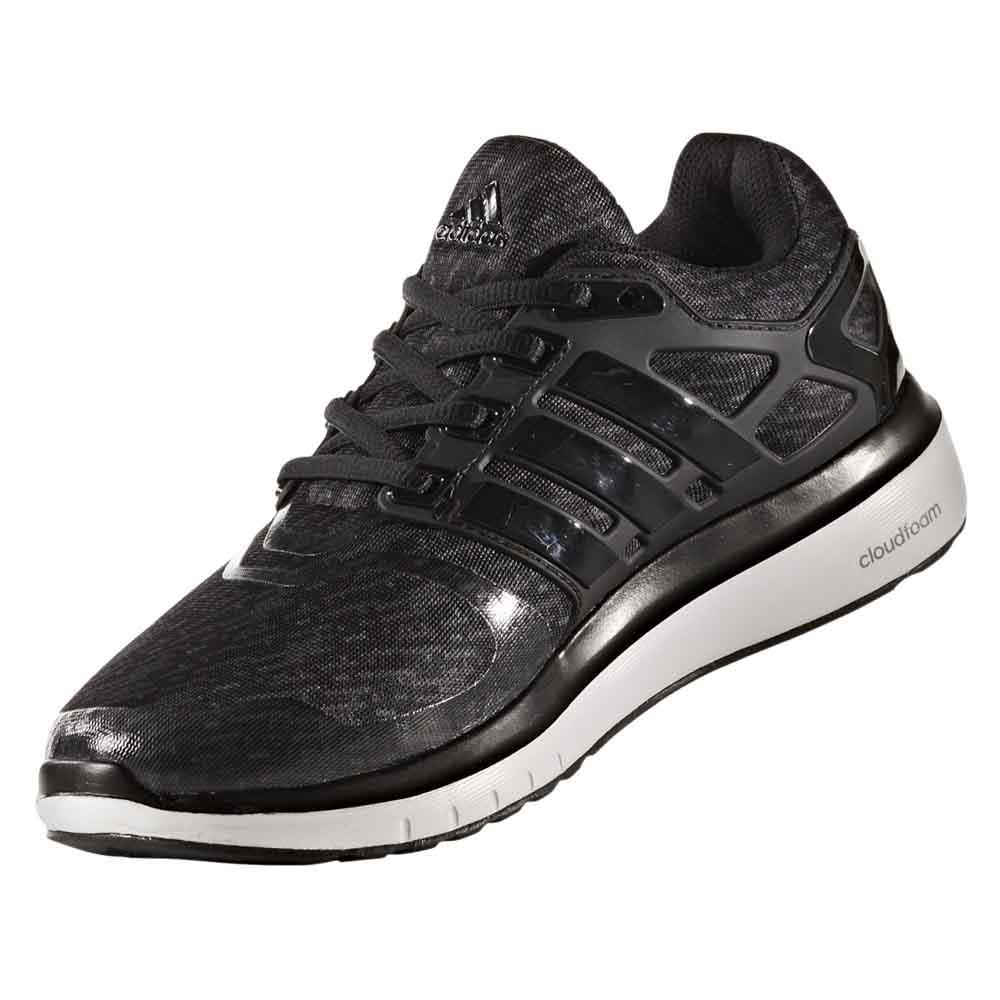 adidas nuvola di energia / core core nero / bianco / nero ftwr, runnerinn