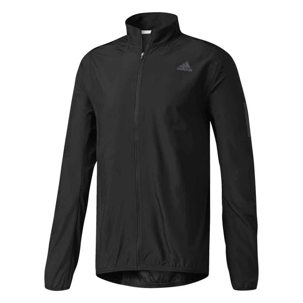 Men adidas Mens Response Wind Jacket Running Clothing