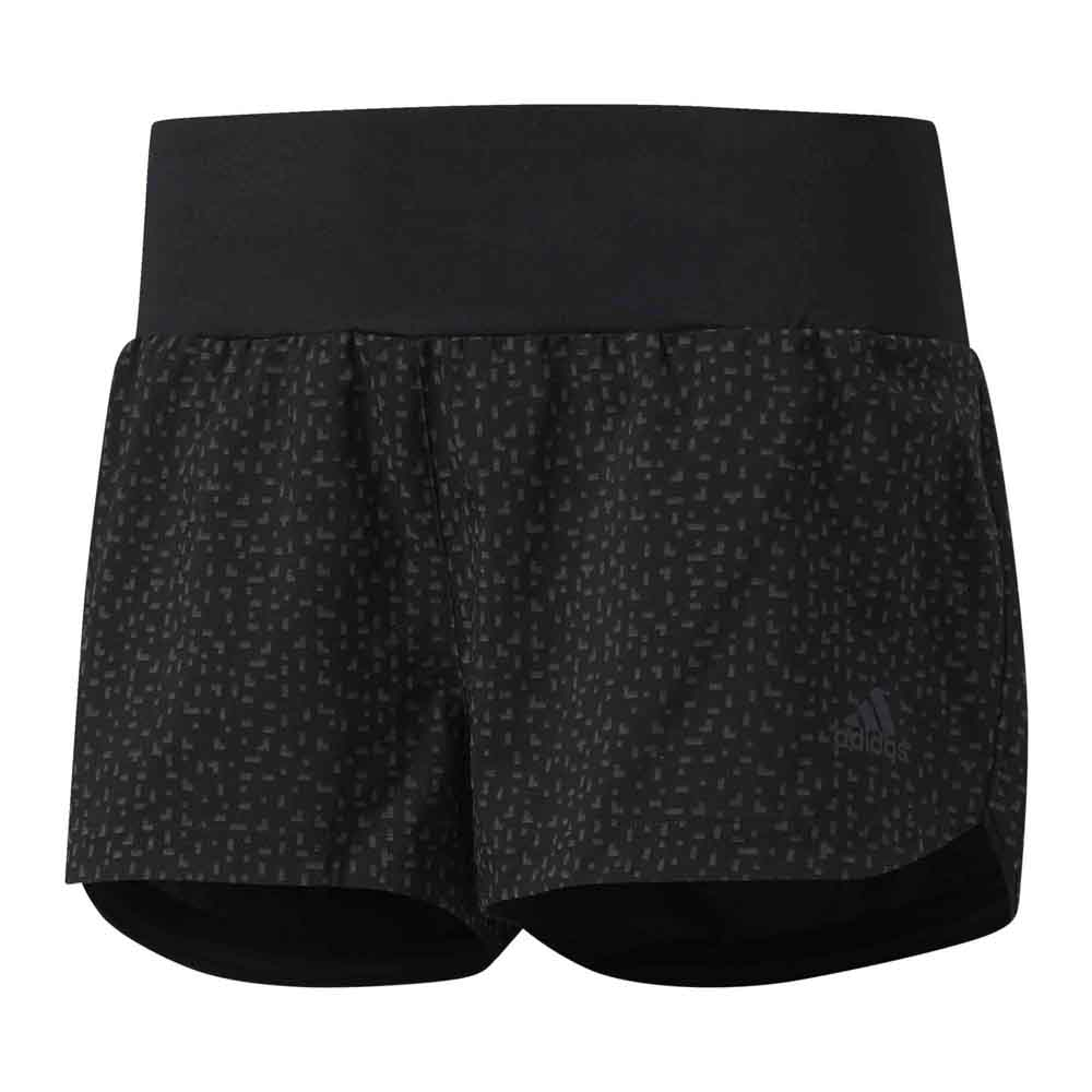 5f2220580051e adidas Supernova Glide Shorts Black buy and offers on Runnerinn