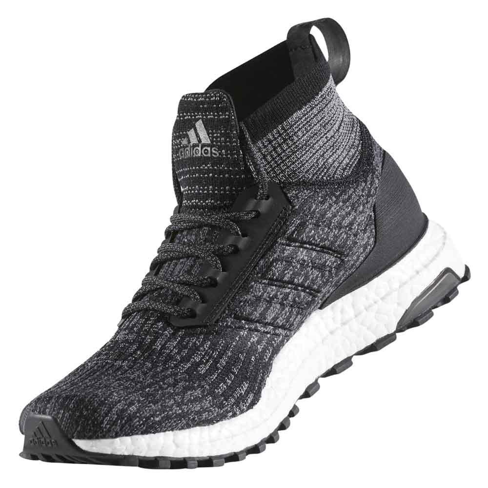 Adidas Ultra Boost Svarte Menns 12 bXhJgn