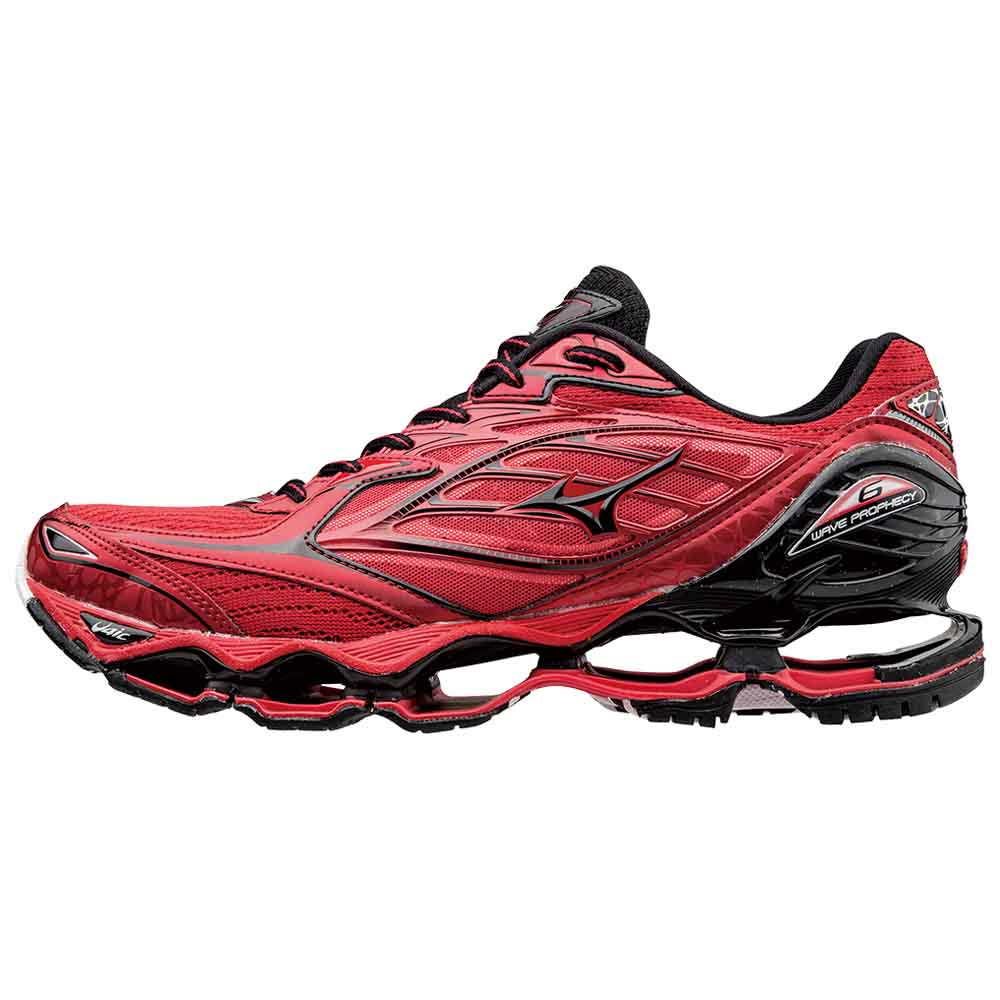buy online e1d93 1bcf1 Mizuno Wave Prophecy 6 Red buy and offers on Runnerinn
