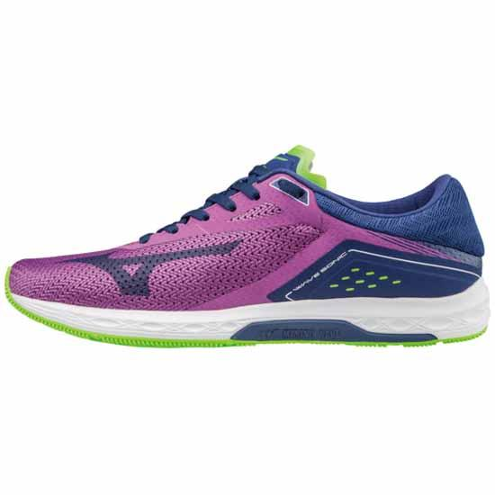 98c19a3635e Mizuno Wave Sonic Purple buy and offers on Runnerinn
