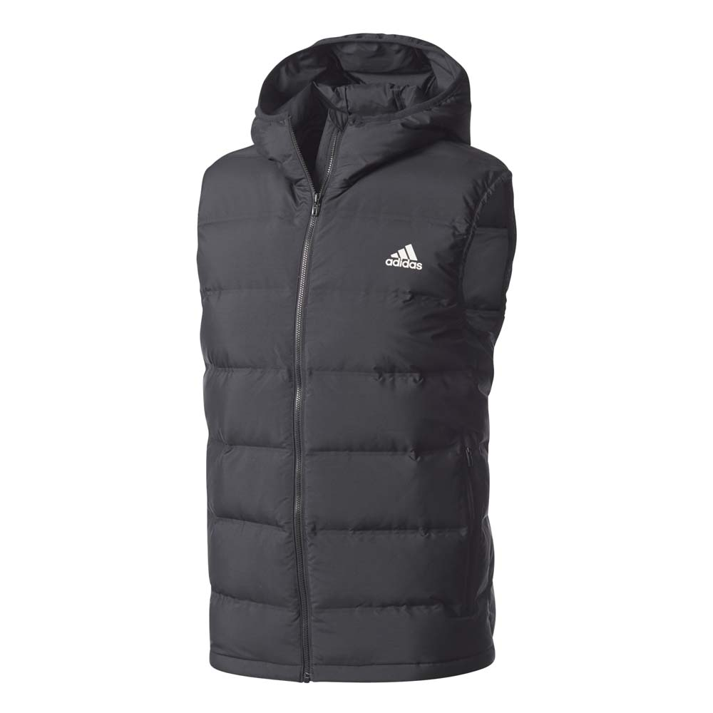 8472f8c94393 adidas Helionic Down Hooded Black buy and offers on Runnerinn