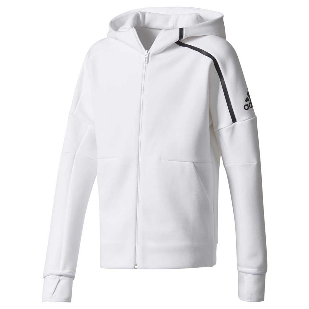 Learn more about the adidas Z.N.E. hoodie | Pre and post