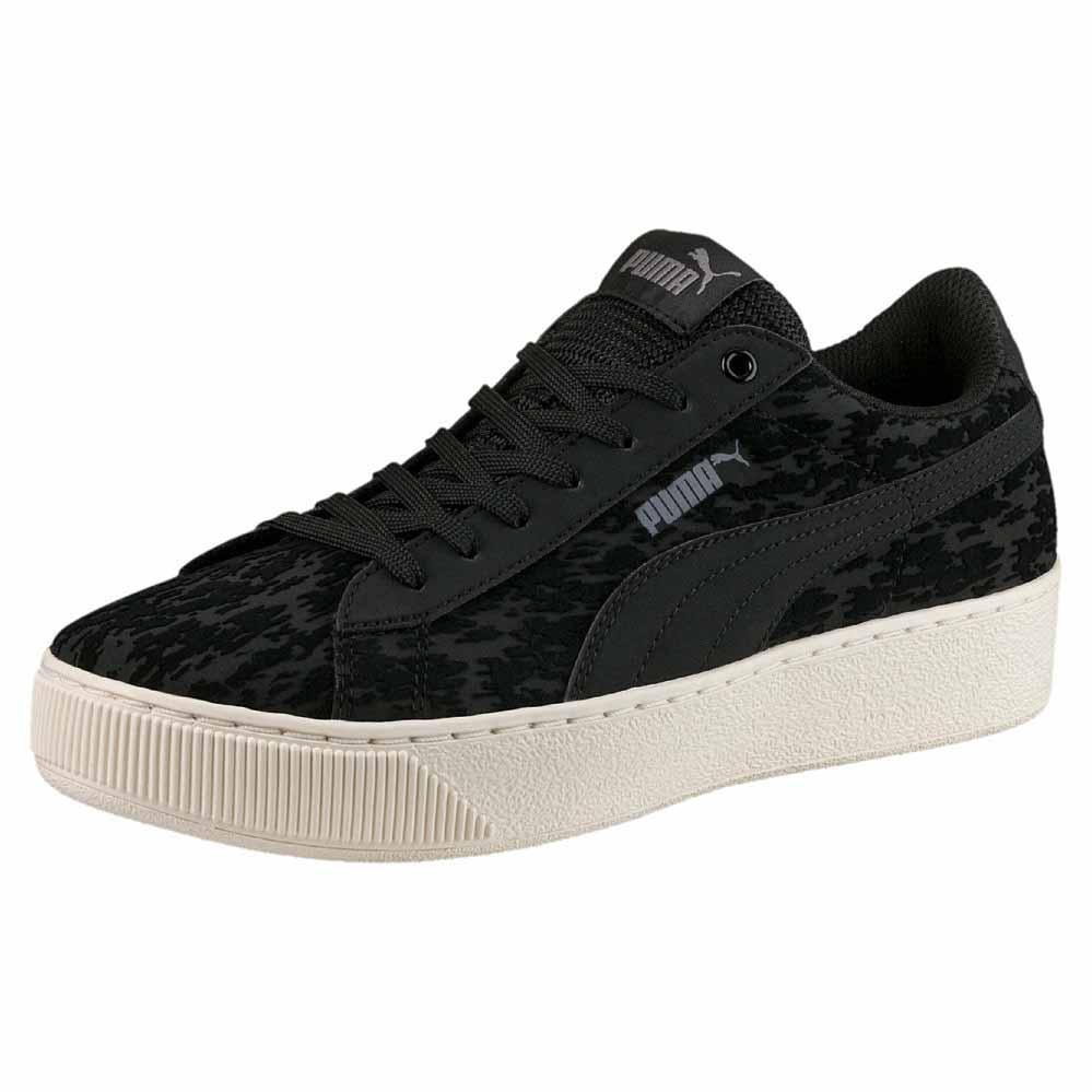 Puma Vikky Ribbon P Sneaker Donna Nero Black Black 38 EU Scarpe
