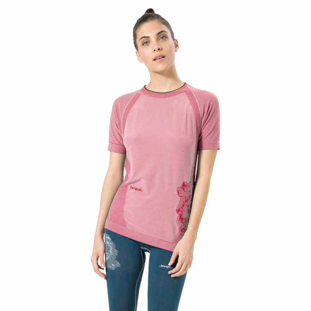 Desigual Run Pro Seamless Raglan Night Garden
