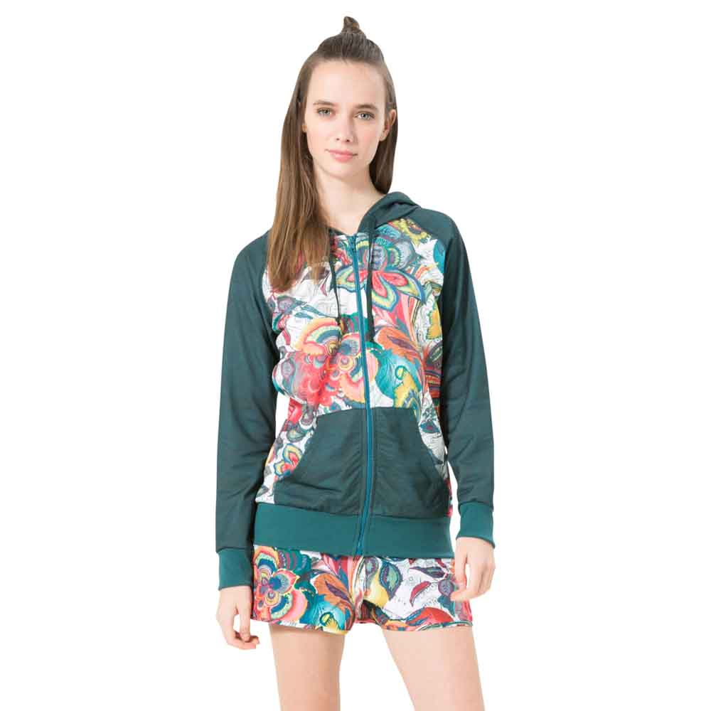 Desigual Training Galactic Bloom Hoodie