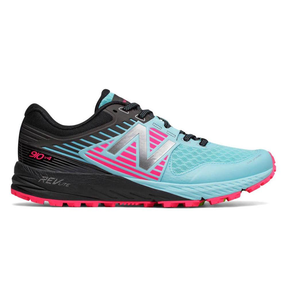 New balance 910 V4 Trail Shoes Blue buy and offers on Runnerinn