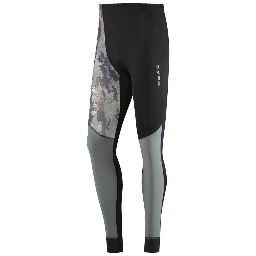 reebok spartan race compression tight tights svart herreklær