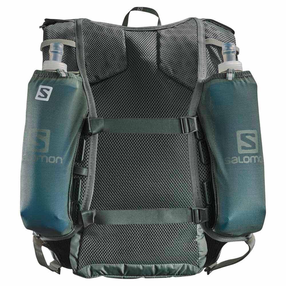 inteligencia Hornear verano  Salomon Agile 6L Set Green buy and offers on Runnerinn