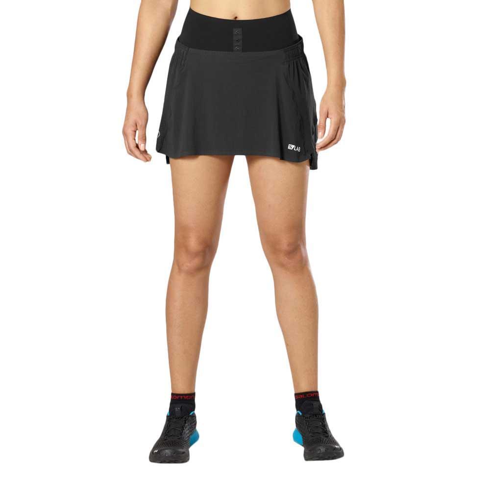 Salomon S Lab Skirt Black buy and offers on Runnerinn