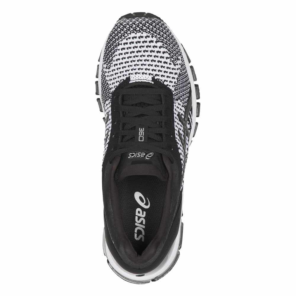 asics gel quantum 360 knit noir acheter et offres sur traininn. Black Bedroom Furniture Sets. Home Design Ideas