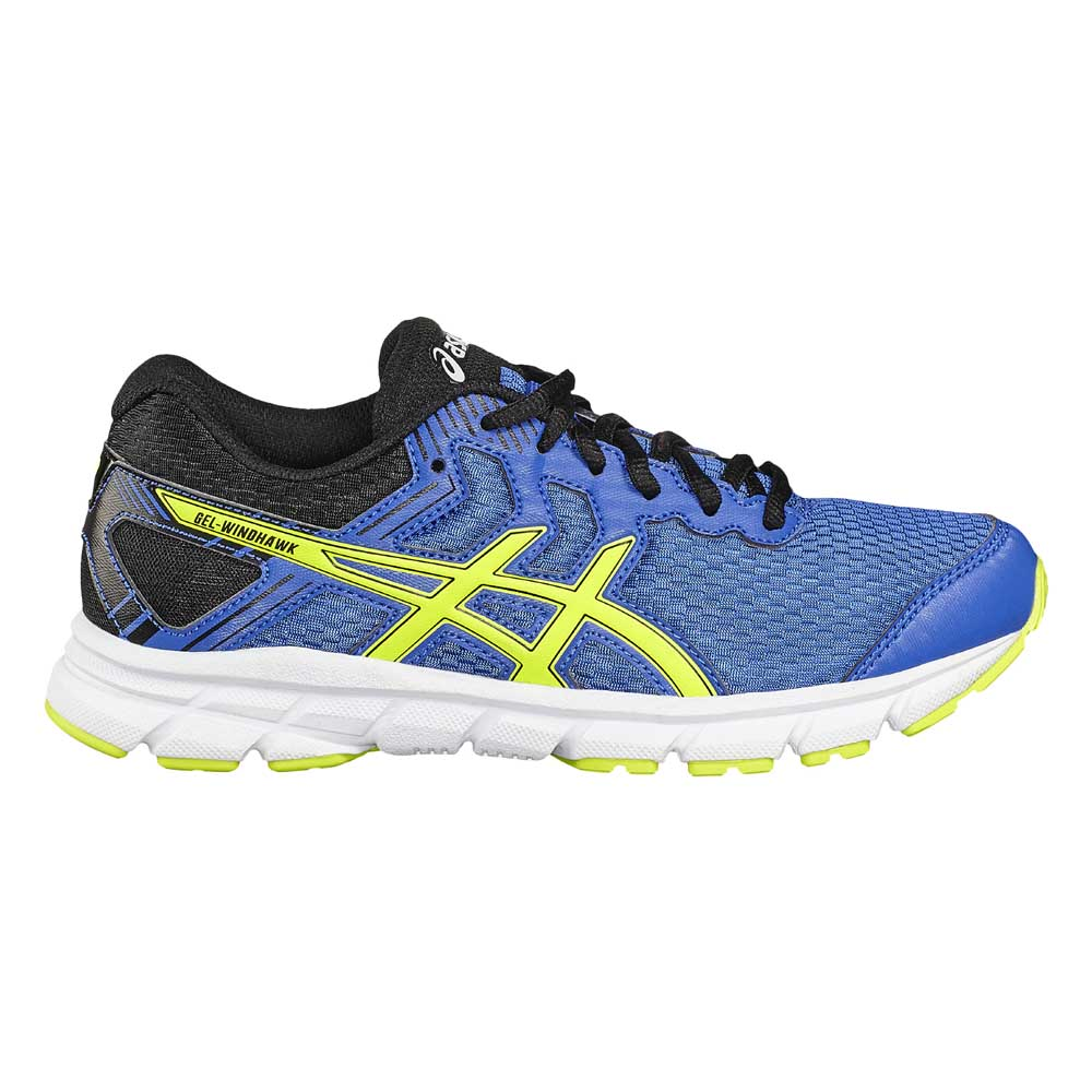 Asics Gel Windhawk GS Blue buy and offers on Runnerinn