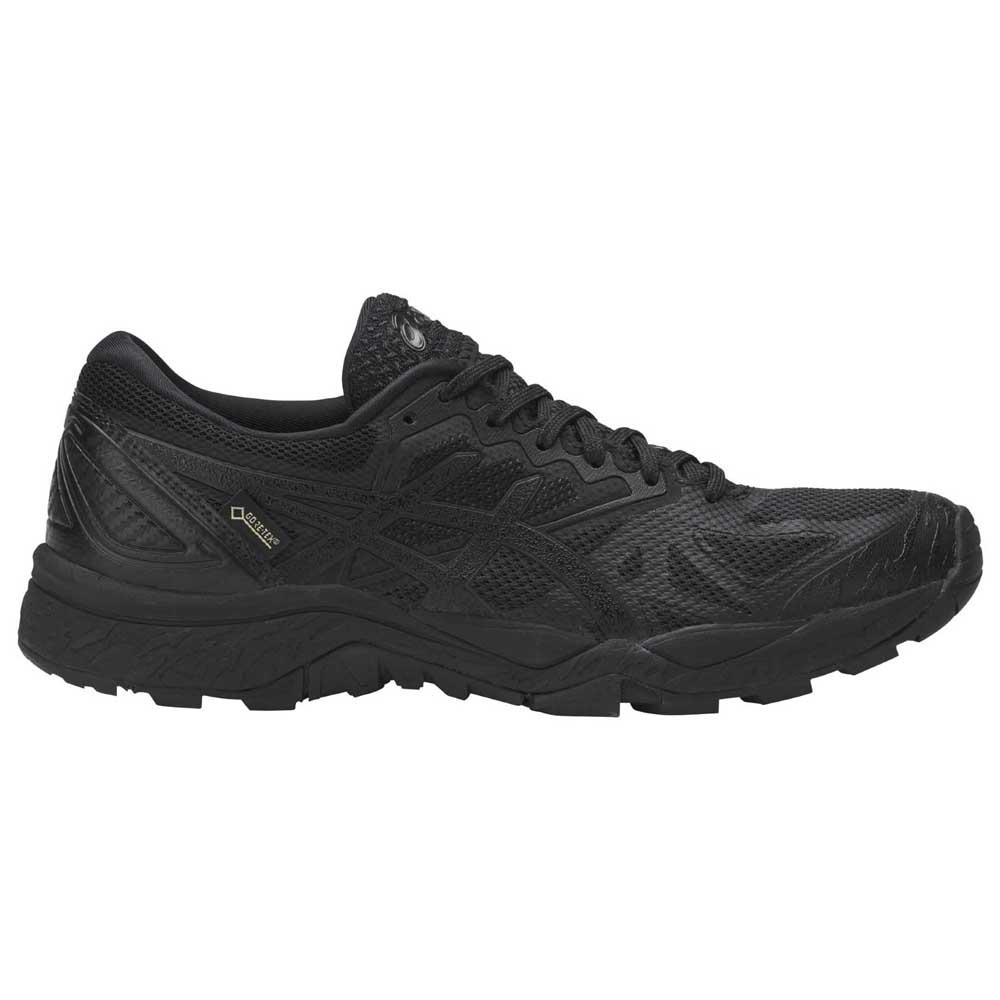 Asics Gel FujiTrabuco 6 G TX Black buy and offers on Runnerinn