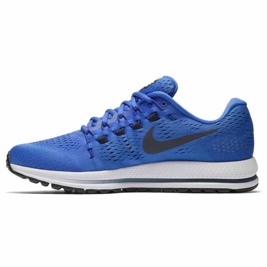 nike air zoom vomero 12 blue buy and offers on runnerinn. Black Bedroom Furniture Sets. Home Design Ideas