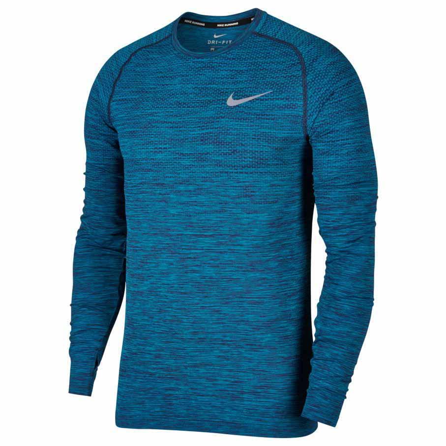 Nike Dri Fit Knit LS Top
