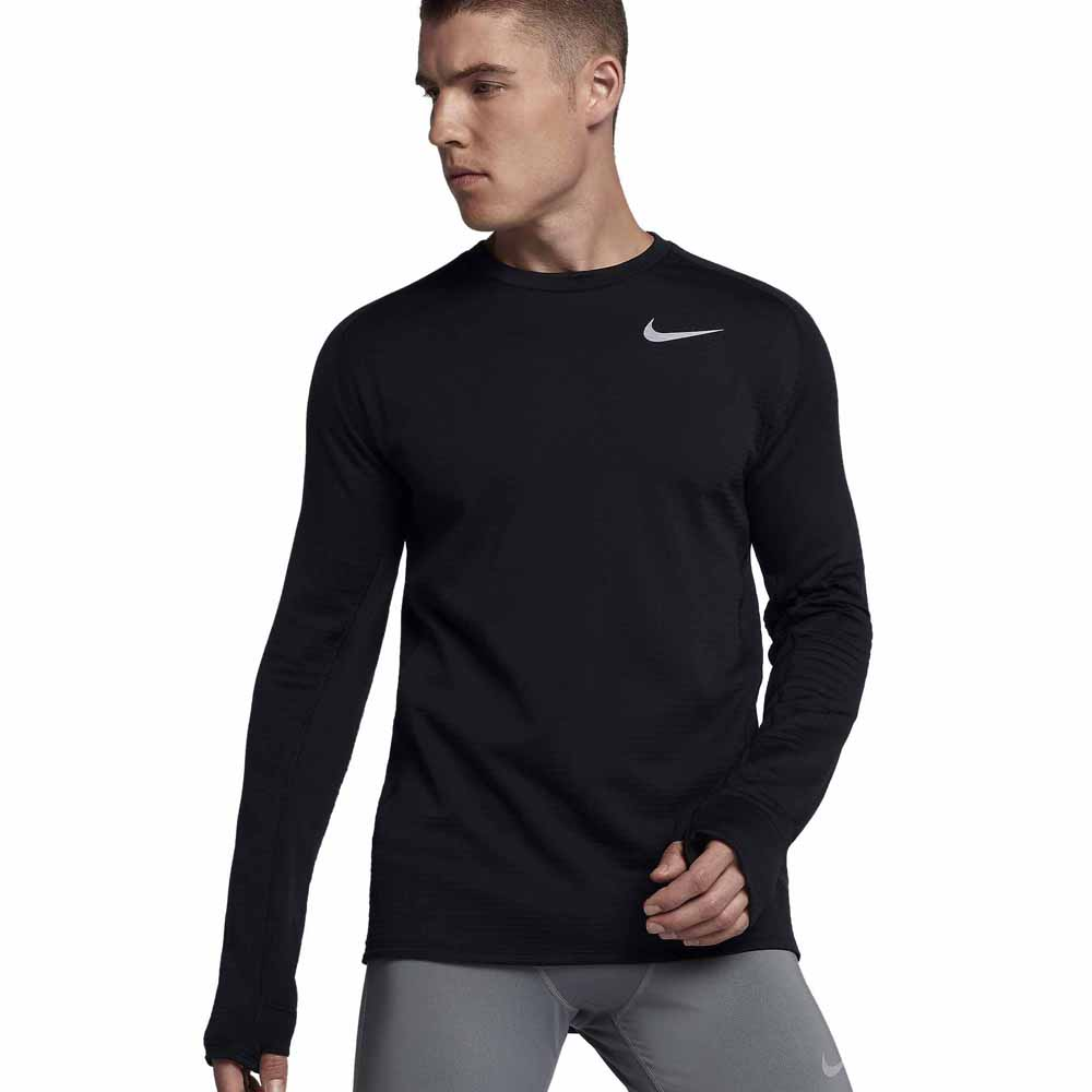 Ambicioso Fértil proteccion  Nike Therma Sphere Element Crew Black, Runnerinn