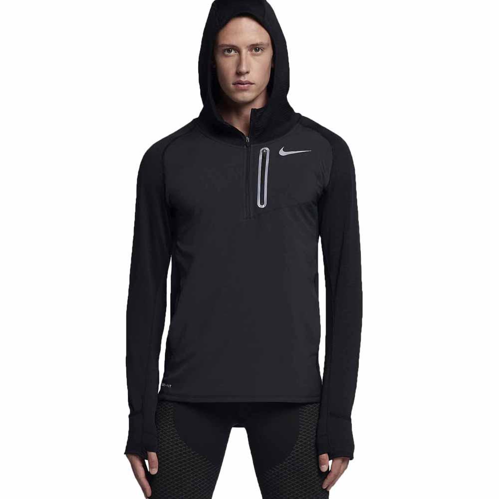 Sweat Nike pour homme avec capuche Therma Sphère Gris ou