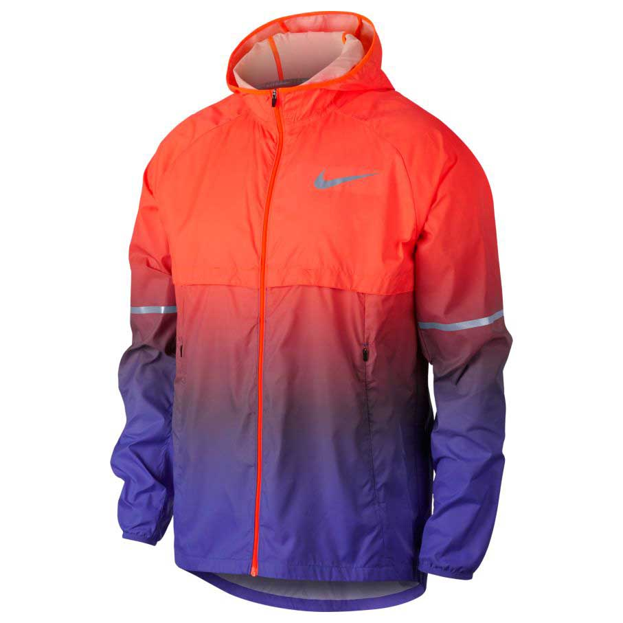 9aad3bd0e208 Nike Shield Hoodie Prism Orange buy and offers on Runnerinn
