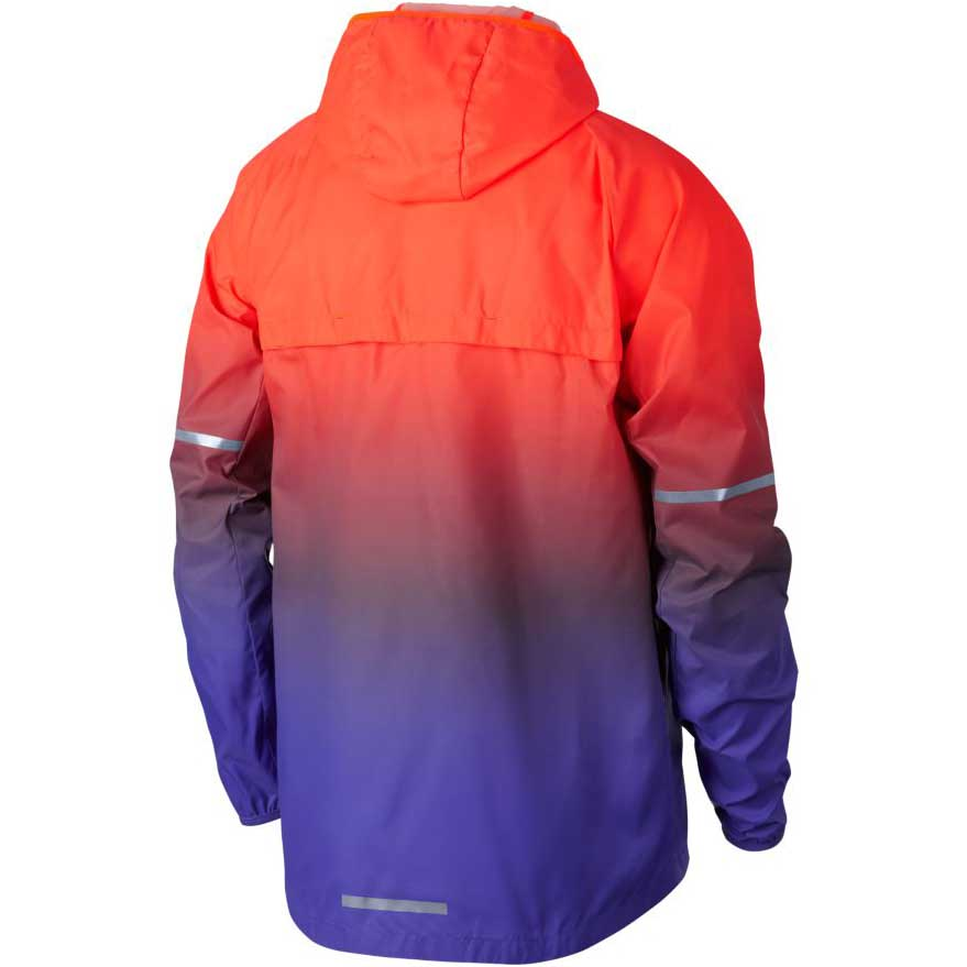 Nike Shield Hoodie Prism Orange, Runnerinn