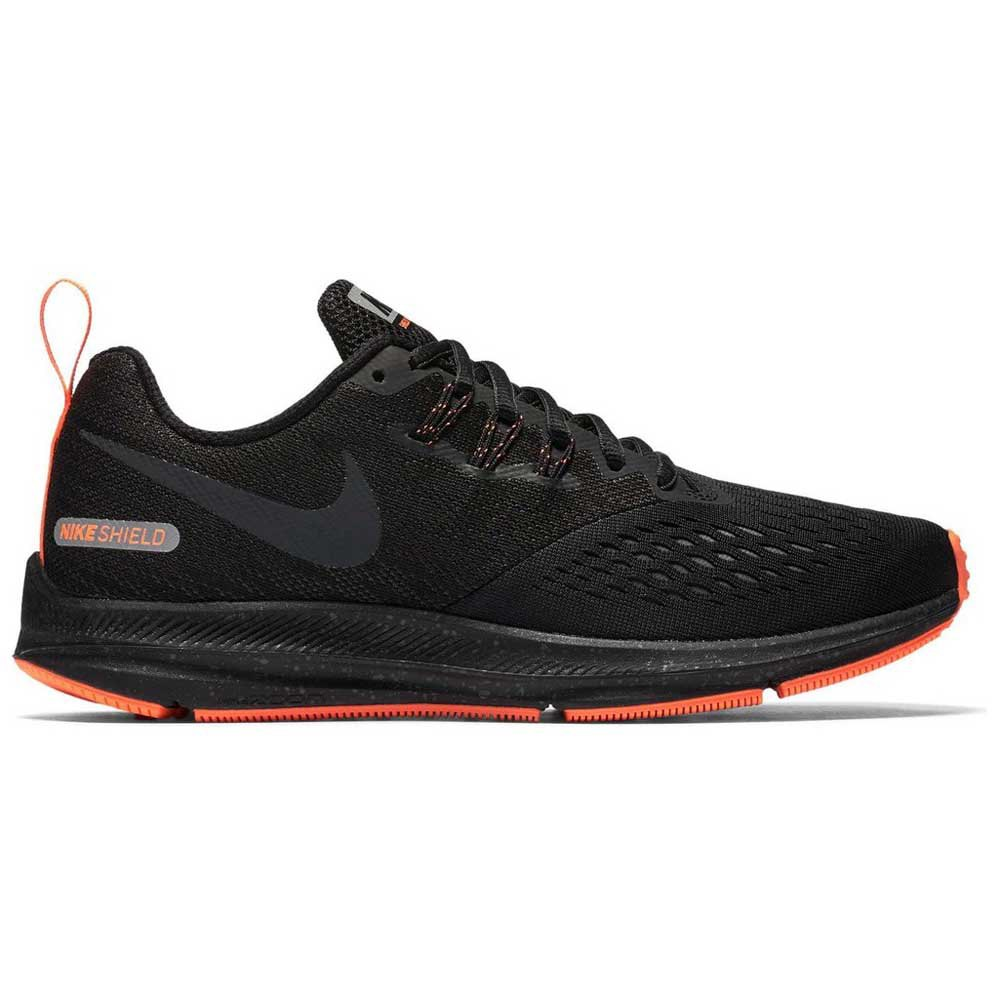 ab9556147d80 Nike Zoom Winflo 4 Shield Black buy and offers on Runnerinn