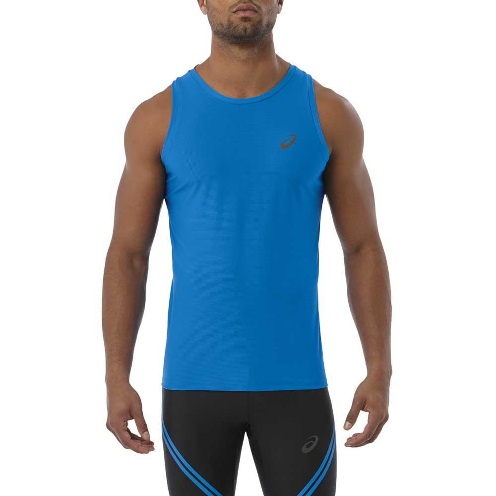 1a98c50017b Asics Singlet Azul comprar y ofertas en Runnerinn