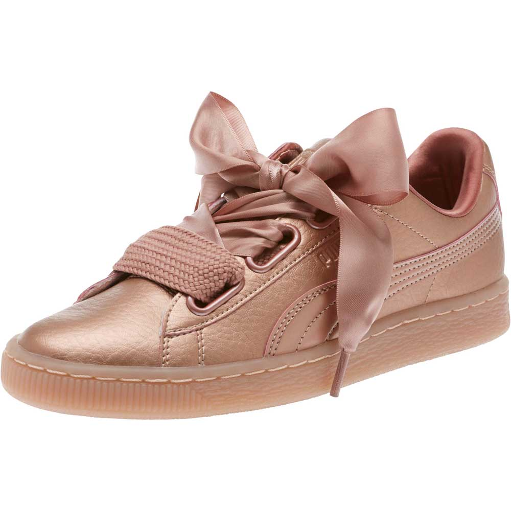 puma heart basket