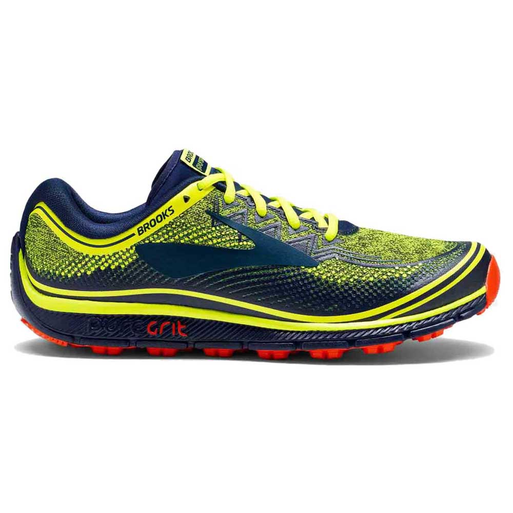 65061d5481df7 Brooks PureGrit 6 Green buy and offers on Runnerinn