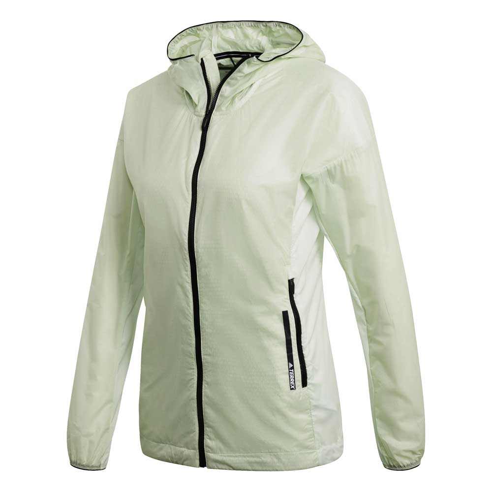get new best loved later adidas Terrex Agravic Alpha Shield Hooded Green, Runnerinn