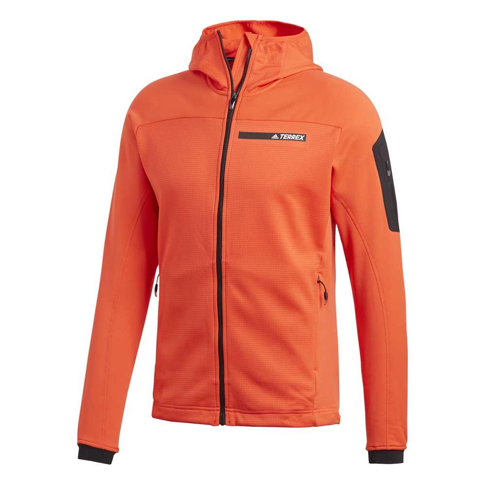 77da6df2cfc19 adidas Terrex Stockhorn Fleece Hooded Rojo