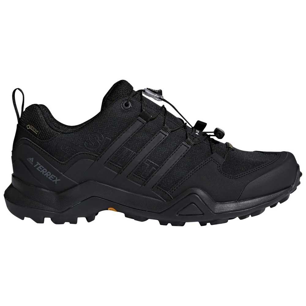 2252b4dd0 adidas Terrex Swift R2 Goretex Black buy and offers on Runnerinn