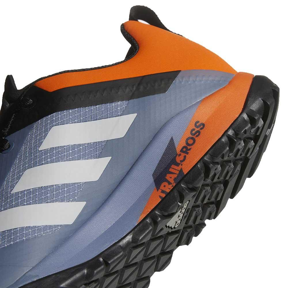 Orange|Grey Outdoors Adidas Terrex Trail Cross Sl Shoes