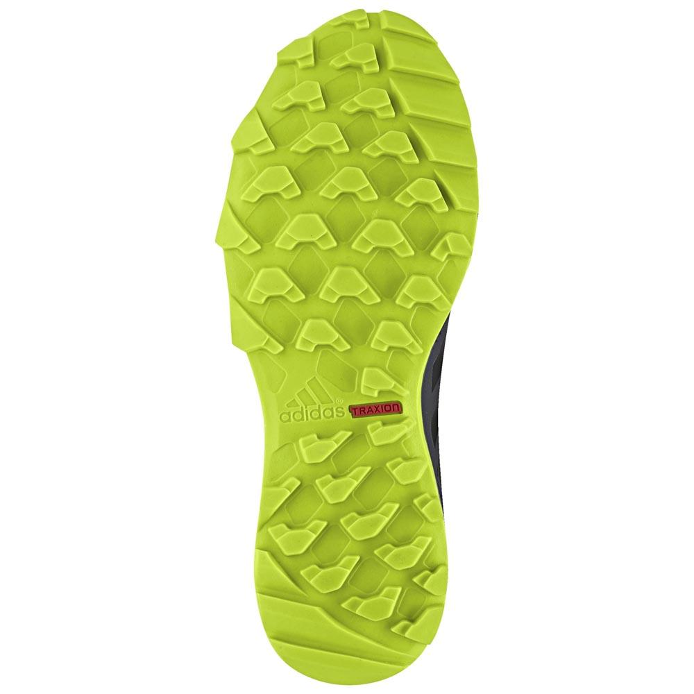 adidas terrex tracerocker goretex echte blaugrün / kern schwarz / solar