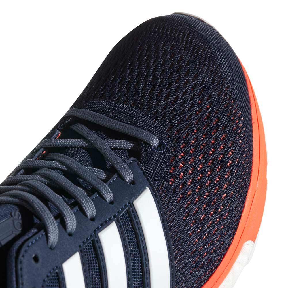 Adidas adizero boston 6 collegiale ftwr bianco / ciao riserva marina / arancione