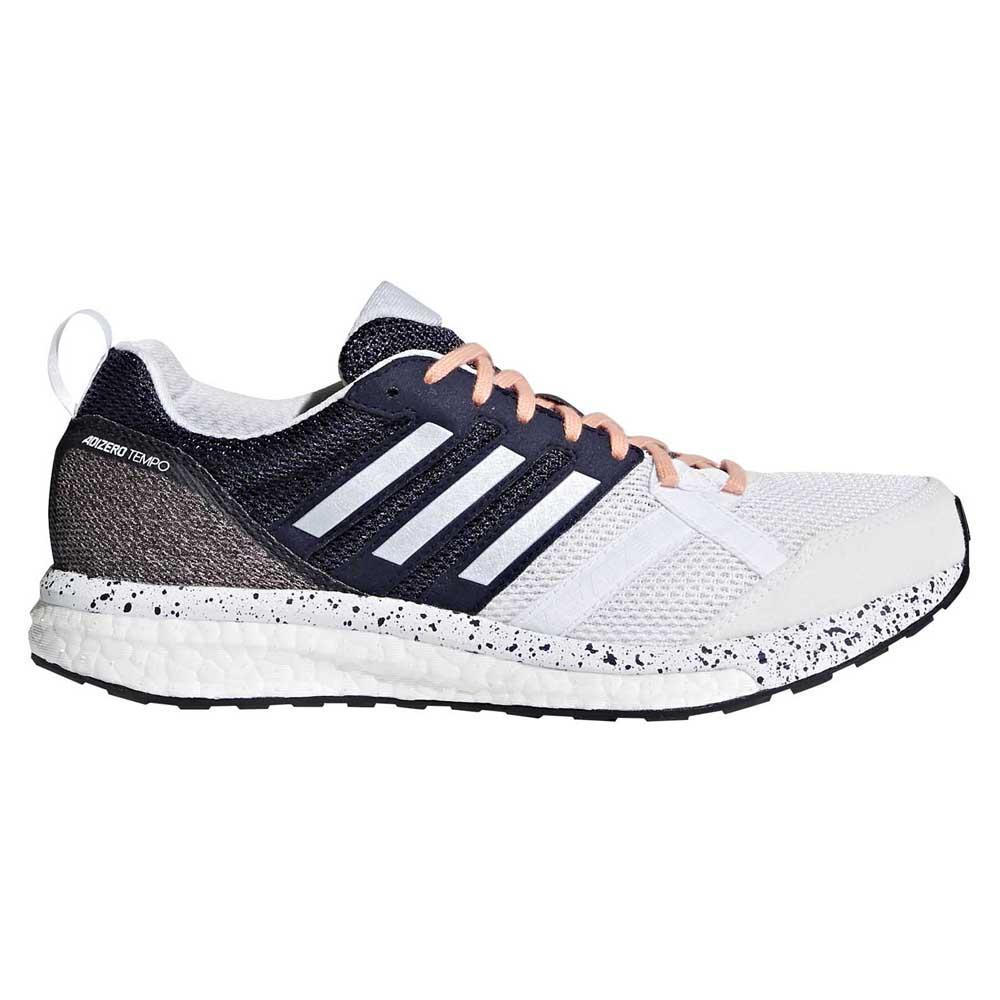 0207ddbcdc4d adidas Adizero Tempo 9 White buy and offers on Runnerinn
