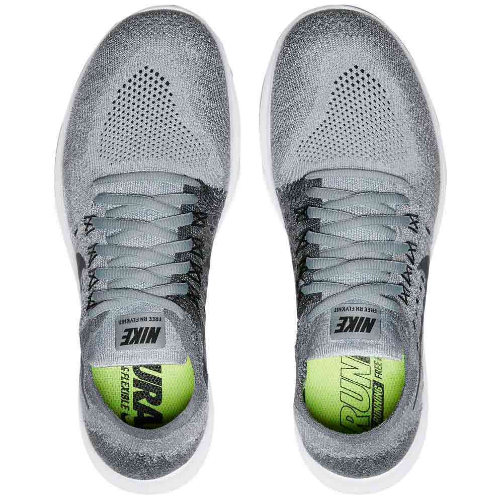 448b62ee354ca9 Nike Free RN Flyknit 2017 Grey buy and offers on Runnerinn