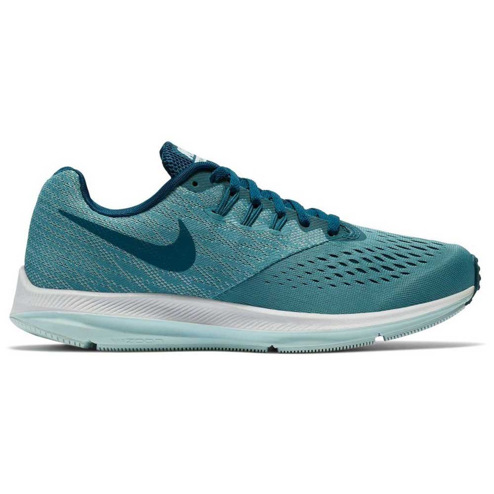 6019a0fbbc0d Nike Zoom Winflo 4 Blue buy and offers on Runnerinn